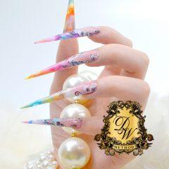 Detailed Work's Method Acryl nail method